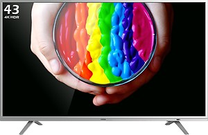 Onida Google Certified 107.97 cm (43 inch) Ultra HD (4K) LED Smart Android TV(43UIC) price in India.