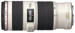 Canon EF 70 - 200 mm f/4L IS USM  Lens(Black & White) price in India.