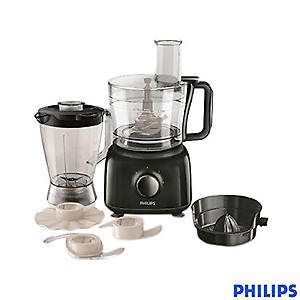 Philips HR 7629/90 650 W Food Processor  (Black) price in India.