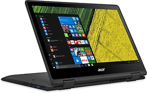 Acer Spin 5 Core i3 7th Gen - (4 GB/256 GB SSD/Windows 10 Home) SP513-51 2 in 1 Laptop(13.3 inch, Black, 1.6 kg) price in India.
