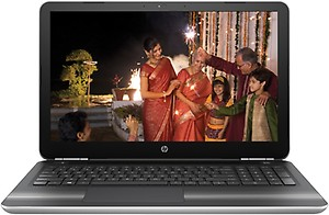 HP 15-AU624TX 2017 15.6-inch Laptop (Core i5/4GB/1TB/Windows 10 Home/Integrated Graphics), Silver price in India.