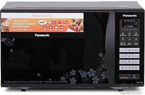 Panasonic 23 L Convection Microwave Oven  (NN-CT364B, Black) price in India.