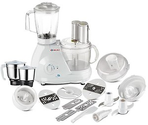 Bajaj Food Factory FX 11 600-Watt Food Processor (White) price in India.