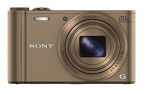 Sony DSC-WX300 Point & Shoot Camera(Red) price in India.