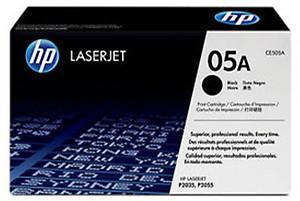 HP 05A Black LaserJet Toner Cartridge price in India.