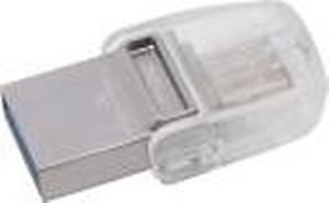 Kingston DTDUO3C/32GBIN 32 GB OTG Drive(Grey, Type A to Type C) price in India.