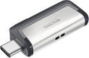 SanDisk Ultra Dual SDDD3-128G-G46/SDDD3-128G-i35 128 GB OTG Drive  (Black, Type A to Micro USB) price in India.