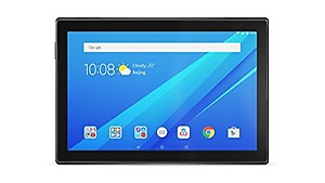 Lenovo Tab4 10 Plus Tablet (10.1 inch, 16GB, Wi-Fi + 4G LTE, Non Calling), Black price in India.