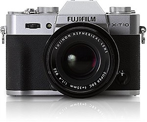 Fujifilm X-T10 Black Mirrorless Digital Camera Kit with XF18-55mm F2.8-4.0 R LM OIS Lens (Old Model) price in India.