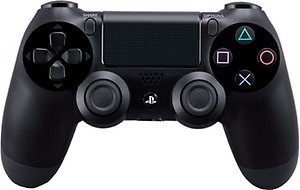Sony DualShock 4 Wireless Controller Gamepad(Black, For PS4) price in India.