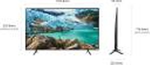 Samsung 124 cm (49 Inches) UHD LED Smart TV UA49RU7100KXXL (Black) (2019 model) price in India.