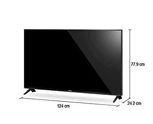Panasonic 139 cm (55 inches) G750 Series 4K Ultra HD LED TV TH-55GX750D (Black) (2019 Model) price in India.
