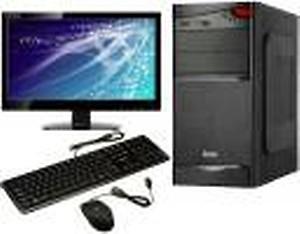 Foxin FOX i3 530 Series Core i3 (4 GB DDR4/500 GB/Windows 10 Pro/1 GB/18.5 Inch Screen/Fox i3 530 Model)(Black) price in India.