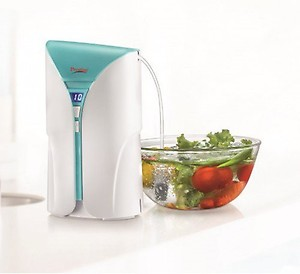 Prestige CleanHome Fruit and Vegetable Cleaner (P0Z 1.0 ) 230 Volts Food Processor(White and Blue) price in India.