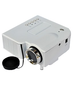Zakk Mini UC-28 Portable Projector with USB and Inbuilt Speakers (White) price in India.