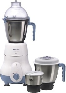 Philips HL1643/04 600 W Mixer Grinder  (Blue, 3 Jars) price in India.