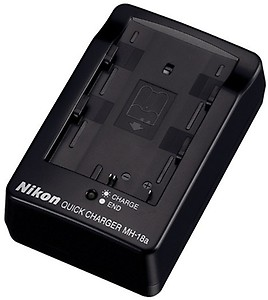 Nikon MH-18a Quick Battery Charger for The EN-EL3e Battery Compatible with Nikon D80 D200 D300 and D700 Digital SLR Cameras price in India.