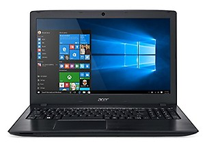 Acer Aspire E 15 E5-575-33Bm Full HD Notebook (Intel Core I3-7100U Processor, 4GB Ddr4, 1TB 5400RPM Hard Drive, Windows 10 Home, Black) price in India.