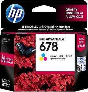 HP 678 Black Ink Advantage Cartridge (CZ107AA) price in India.