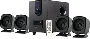 Intex IT 2616 55 W Portable Home Audio Speaker  (Black, 4.1 Channel) price in India.