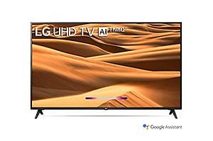 LG 164 cms (65 inches) 4K Ultra HD Smart LED TV 65UM7300PTA | With Built-in Alexa (Ceramic Black) (2019 Model) price in India.
