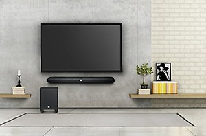 fd3d6836d64 JBL Cinema SB250 Wireless Soundbar with Wireless Subwoofer price in India.