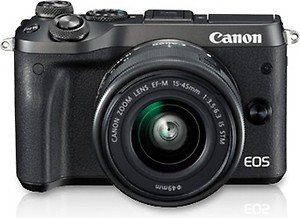 Canon EOS M6 24.2 MP DSLR (Black) price in India.