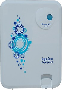 Eureka Forbes Aquasure From Aquaguard Maxima NXT RO+UF 6 L RO + UF Water Purifier(White) price in India.