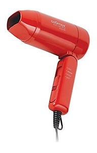 OZOMAX BL-342-NVD Novel Hot-Warm-Cold 1000 Watt Foldable Hair Dryer (Red) price in India.