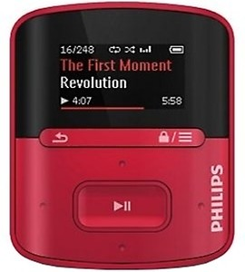 Philips GoGear Action 16 GB MP3 Player(Black) price in India.
