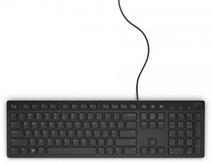 Dell KB 216 Wired USB Desktop Keyboard  (Black) price in India.