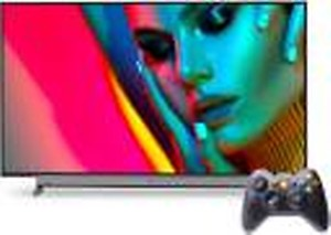 Motorola ZX 127 cm (50 inch) Ultra HD (4K) LED Smart Android TV with Wireless Gamepad(50SAUHDM) price in India.