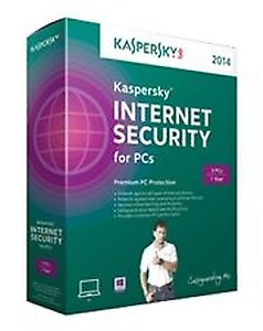 KASPERSKY Internet Security 1 User 1 Year  (CD/DVD) price in India.