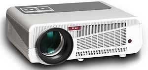 PLAY PP 002 4200 lm LED Corded & Cordless Portable Projector(White, Black) price in India.