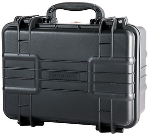 Vanguard Water and Dustproof 37F Professional Hard Case with Pick nPluck Foam Interior (Black, Large) price in India.