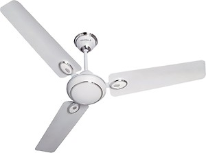Havells Fusion 1400mm 1400 mm 3 Blade Ceiling Fan(Silver, White) price in India.