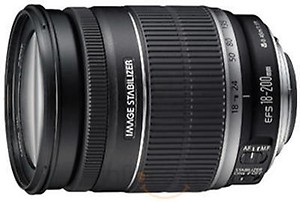 Canon EF-S 18-55mm F/3.5-5.6 1:3.5-5.6 is Zoom Lens for Canon DSLR Camera price in India.