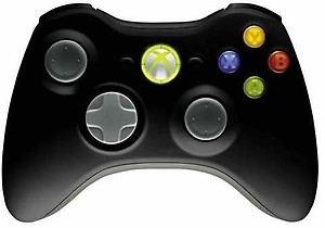 Microsoft Wireless Controller(Black, For Xbox 360) price in India.
