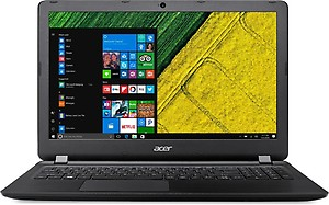 Acer Aspire ES1-572 15.6-inch Laptop (Core i3 /4GB/1TB/LINUX) Black price in India.