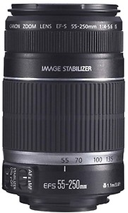 Canon EF-S 55-250mm f/4-5.6 IS II Telephoto Zoom Lens for Canon DSLR Camera price in India.