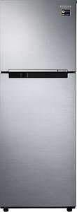 Samsung 253 L 2 Star Frost Free Double Door Refrigerator(RT28M3022S8, Elegant Inox, Inverter Compressor) price in India.