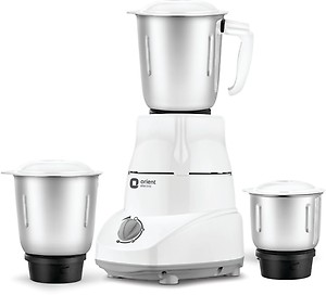 Orient Electric Kitchen Magic MGKM50G3 500 W Mixer Grinder  (White and Grey, 3 Jars) price in India.