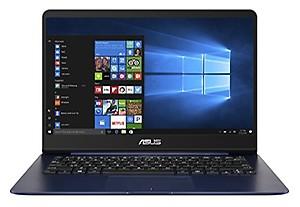ASUS UX430UN-GV020T 2017 14-inch Laptop (Core i7-8550U/8GB/512GB/Windows 10/2GB Graphics), Blue price in India.