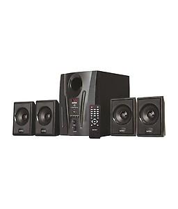 Intex IT 2655 60 W Laptop/Desktop Speaker(Black, 4.1 Channel) price in India.