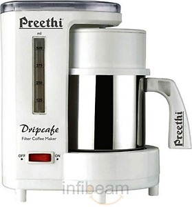 Preethi Dripcafe Coffee Maker (White) price in India.