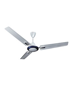 Havells Vogue Plus 1200mm Decorative Ceiling Fan (Silver Blue) price in India.