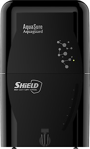 Eureka Forbes Aquasure from Aquaguard Shield 6 L RO + UV + MP + MTDS Water Purifier  (Black) price in India.