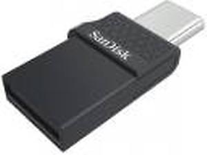 SANDISK SDDDC2-064G-A46 SanDisk Ultra(R) Dual Drive USB-C(TM) Flash Drive (64GB) price in India.