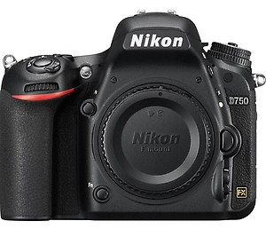 Nikon D750 24.3 Digital SLR Camera (Black) Body price in India.