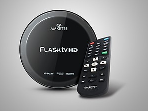 Amkette Flash TV HD Pro 1080P Full HD Media Player price in India.